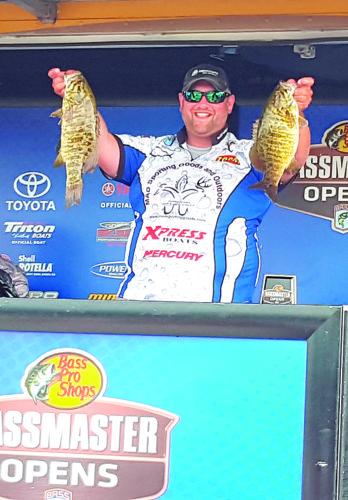 Courtesy photo Marietta resident Glynn Goodwin placed third at a Bass Pro Shops Bassmaster Northern Open event last weekend.