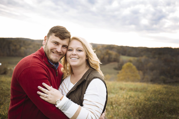 Mary Beth Schramm and Dustin Huck