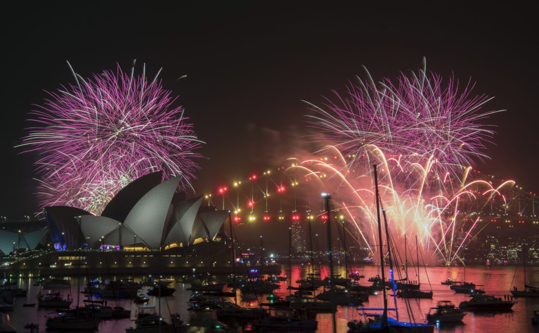 Sydney's awkward New Year fireworks show moment