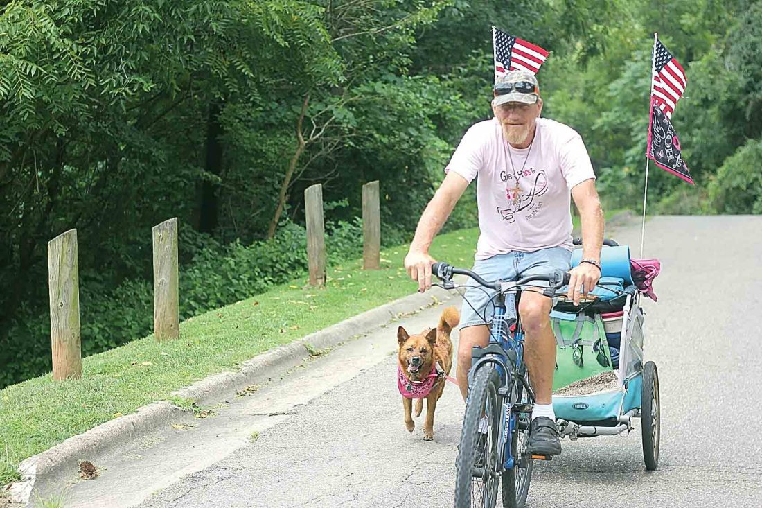 Cyclist touring the country to raise money for a cancer cure   News