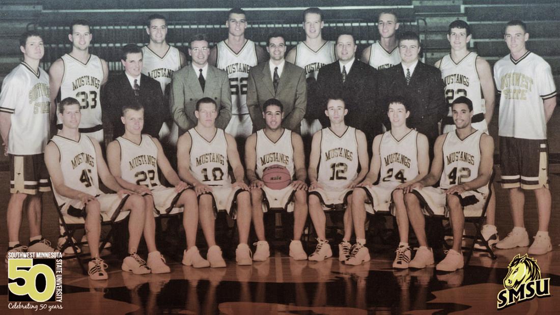 SMSU MEN'S BASKETBALL: Mustang Memories: The 2000-01 men's