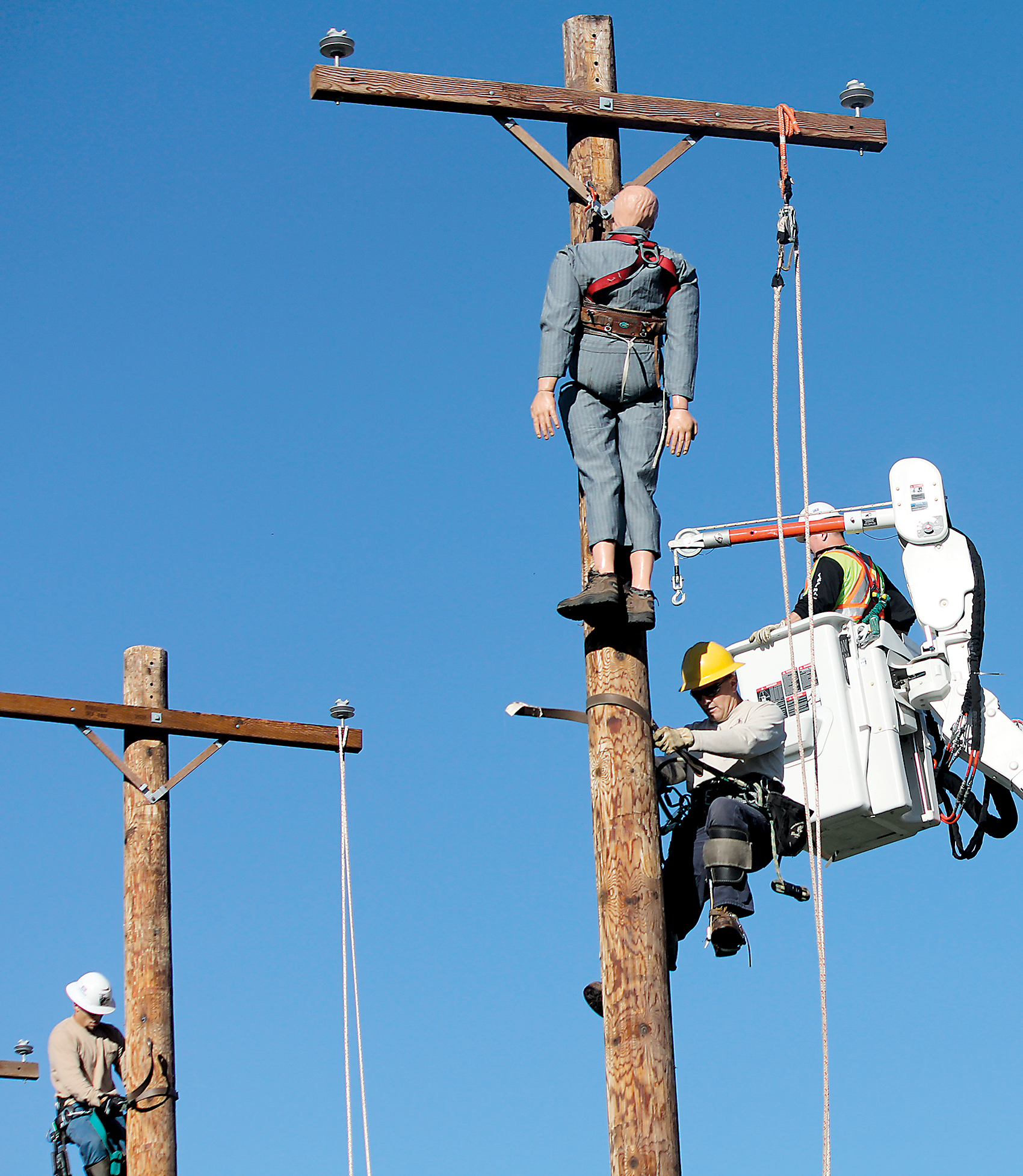 Linemen Rodeo News Sports Jobs Marshall Independent