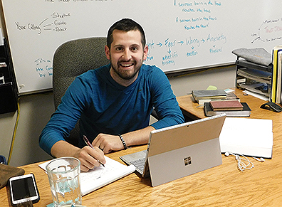 Called to serve: Pavek studying to be a pastor | News