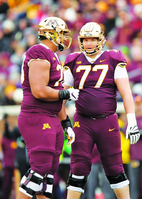 Ncaa Football Trio Of Gopher Football Players Named To
