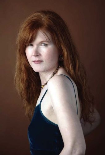 Pianist Sarah Cahill; photo provided by Robert Pollock.