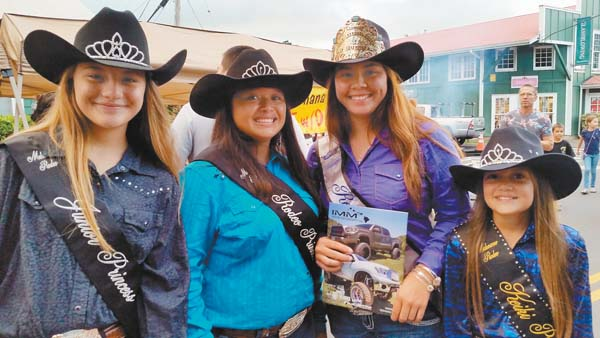MAKAWAO RODEO PRINCESSES