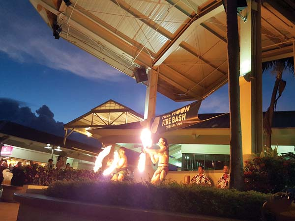 Full Moon Fire Bash from 7 to 8 tonight at Maui Mall. Photo provided by Maui Mall