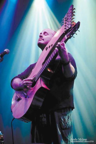 Andy McKee, acoustic guitarist performs Friday at the Maui Arts & Cultural Center's McCoy Studio Theater; Bill Ellison photo via MACC.