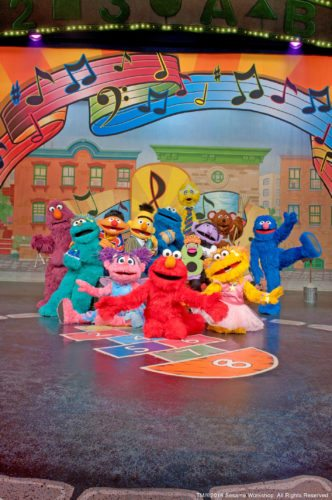 """Sesame Street Live! Elmo Makes Music"" at the Maui Arts & Cultural Center""; photo courtesy Sesame Workshop."