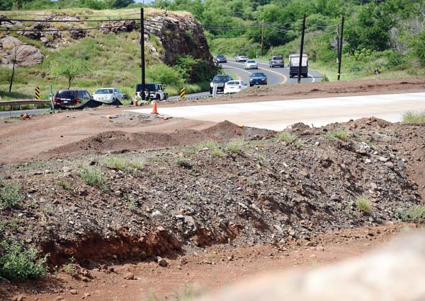 Work continues on Lahaina bypass extension | News, Sports, Jobs