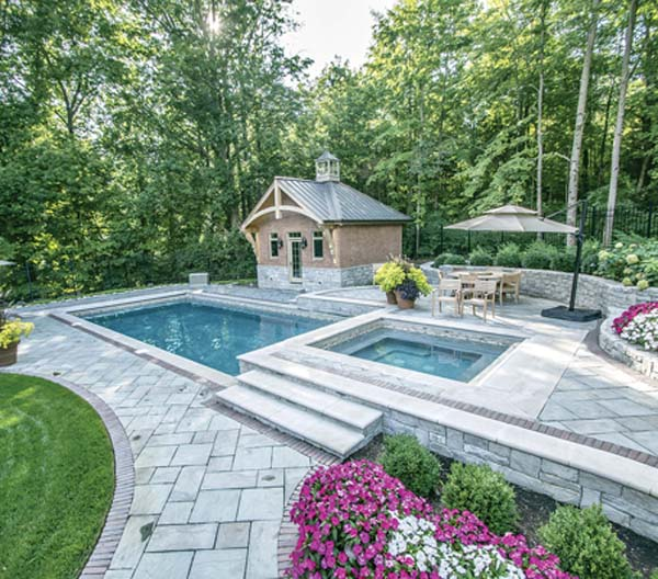 Swimming Pool Plants: Landscaping Your Pool: Pretty With A Minimum Of Debris