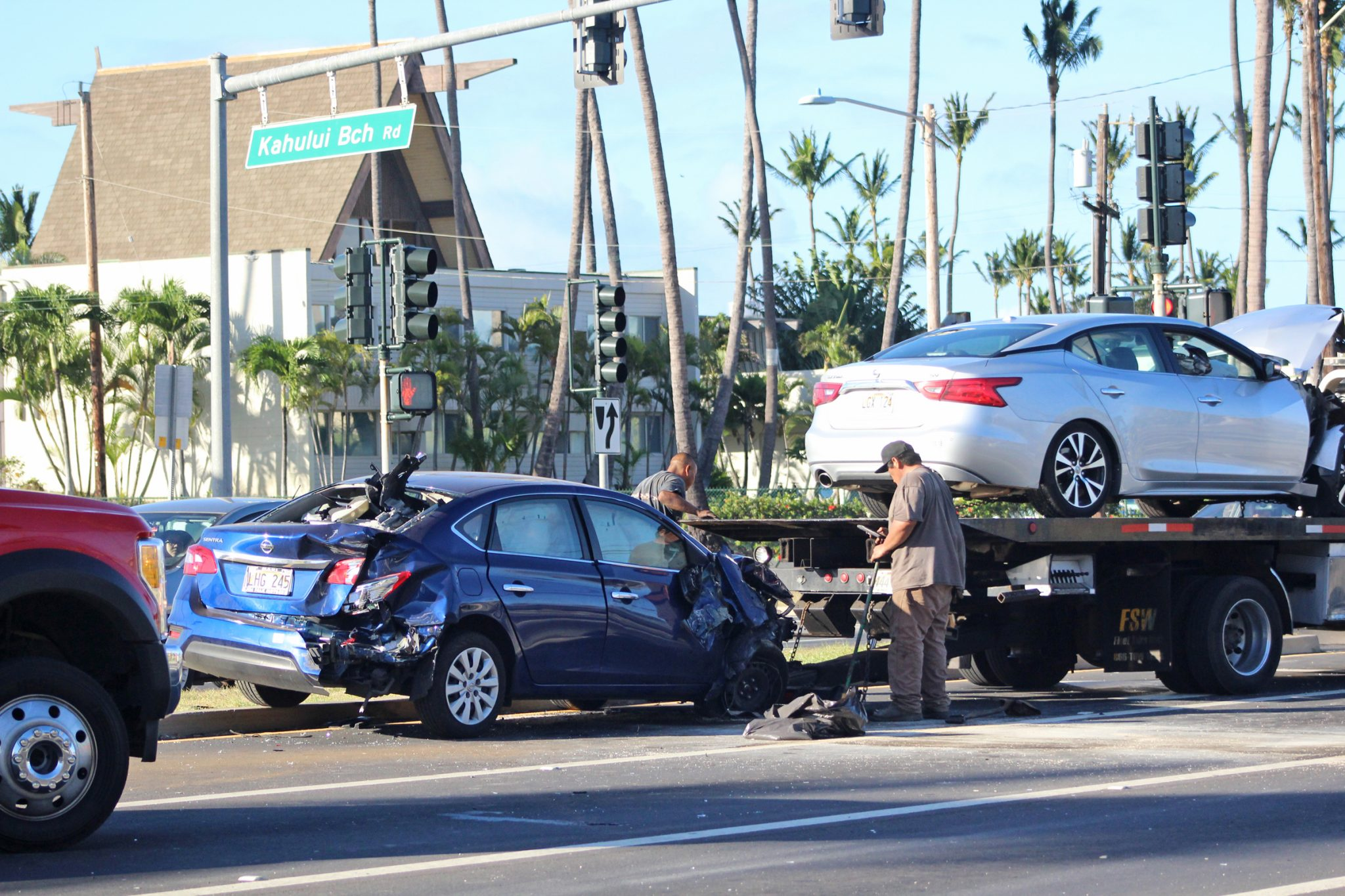 Multiple Car Accident In Kahului News Sports Jobs Maui News