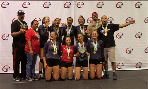 Hawaiian Style Volleyball Club takes the gold medal   News