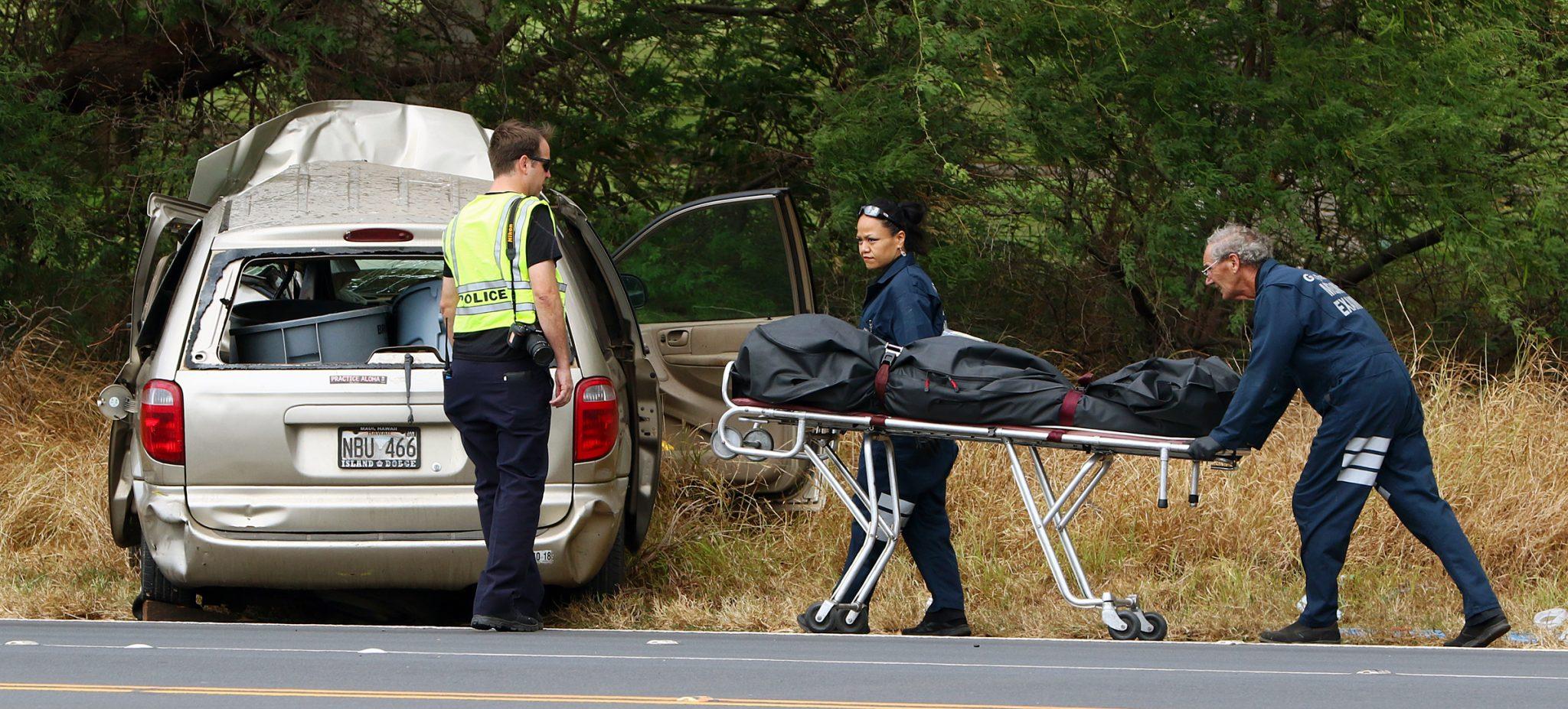 Update 4:45 p m : 2 dead in Kihei crash
