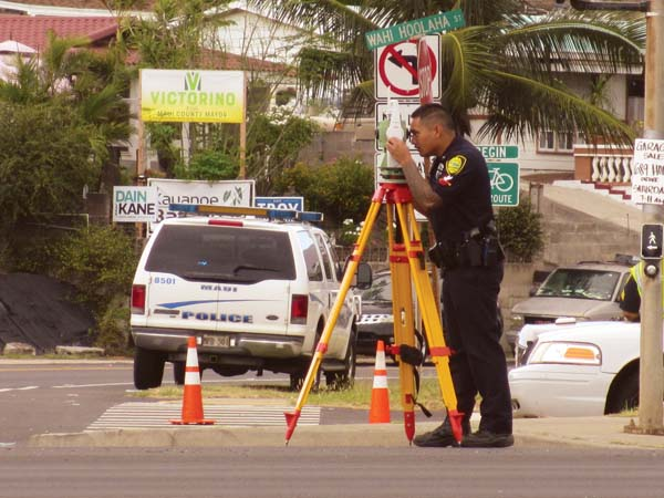 Maui Traffic Map.Police Investigate Traffic Fatality News Sports Jobs Maui News