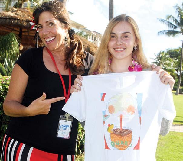 Dukes Beach House Maui: Duke's Beach House Hosts Annual Holiday T-Shirt Design