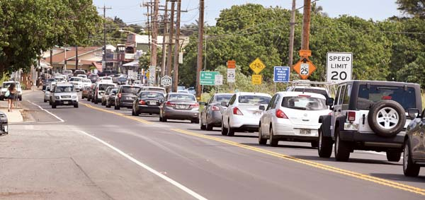 Paia bypass work put on hold by DOT | News, Sports, Jobs - Maui News