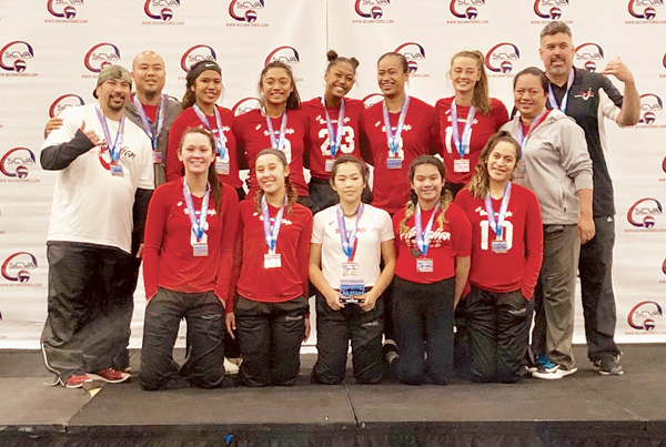 Hawaiian Style Volleyball places third in Las Vegas | News, Sports