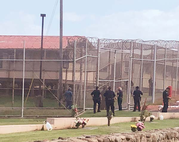 Standoff at Maui jail: 'Disturbance' at MCCC resolved after
