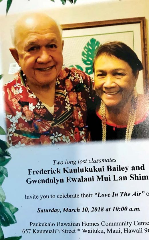 Lahainaluna love prevails for two long-lost classmates