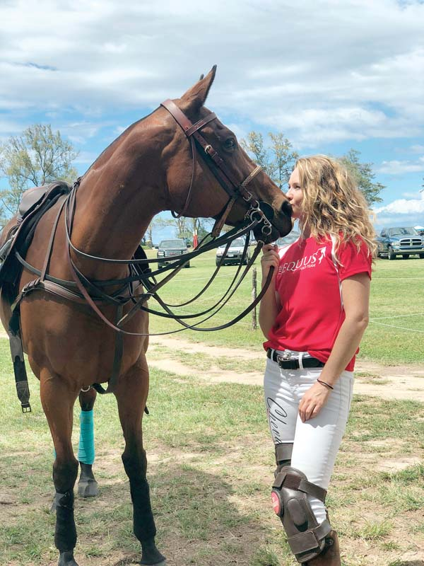 Travis started small, has grown into polo star | News
