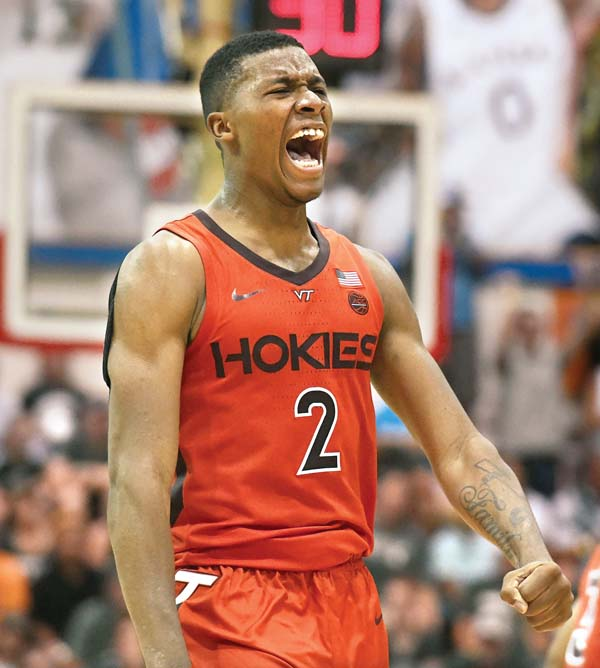 Landers Nolley II has played very well at the Maui Invitational, and he could be a potential first round pick in 2020. (Photo: Matthew Thayer/The Maui News.)