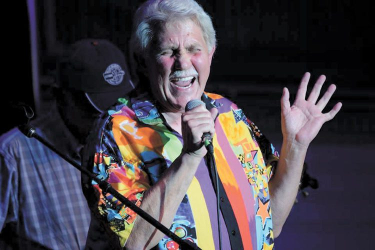 Iowa Rock 'N' Roll Music Association Hall of Famer Denny Read performs in this submitted photo.