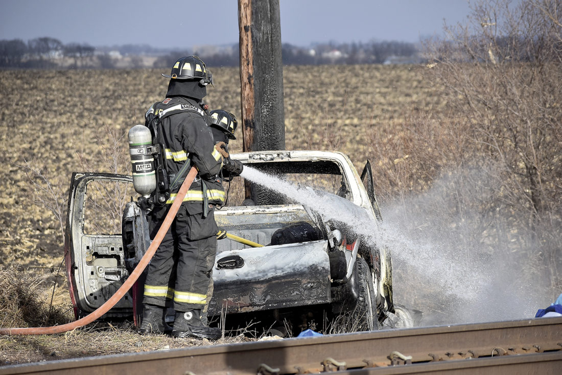 Driver survives collision with train | News, Sports, Jobs
