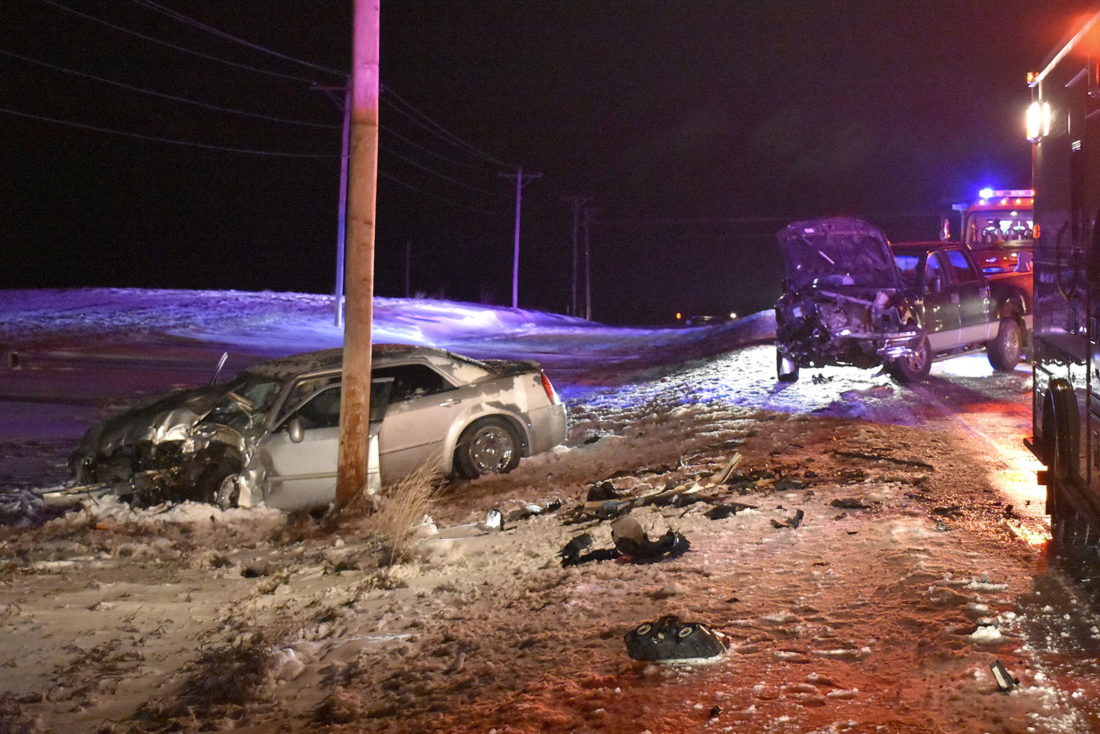 Car, truck collide east of Fort Dodge | News, Sports, Jobs