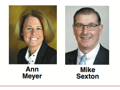 Mike Sexton, Ann Meyer