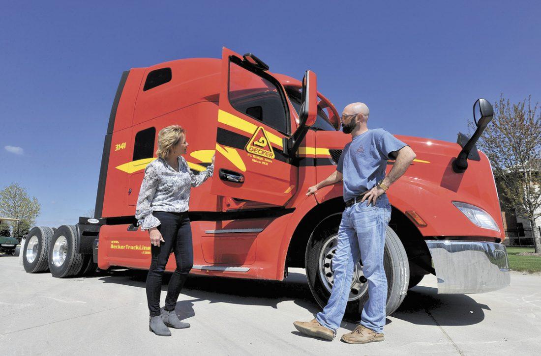 Modern safe trucking | News, Sports, Jobs - Messenger News