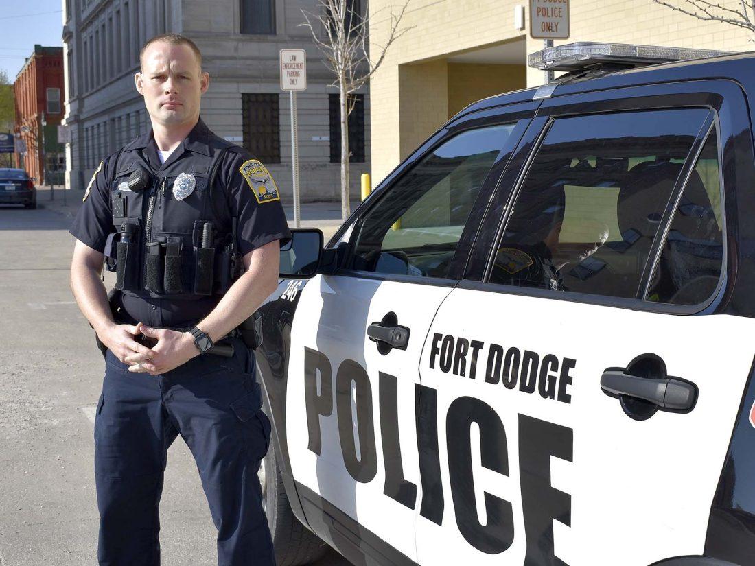 Sheriffs Deputies Patrolling Streets — VACA