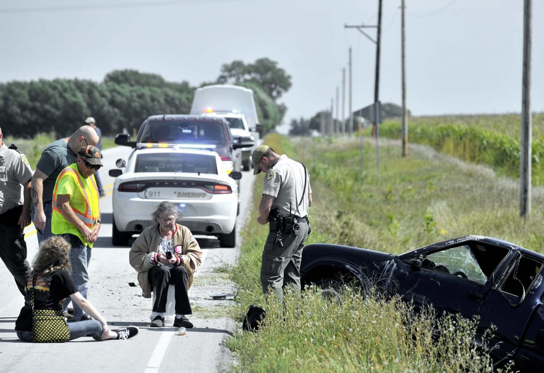 Two injured in one-vehicle crash | News, Sports, Jobs