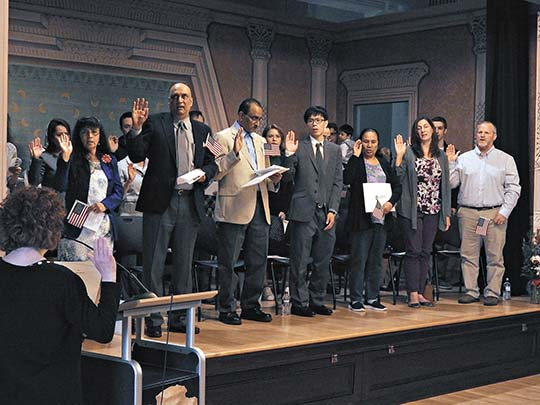 Welcome aboard: US welcomes new citizens | News, Sports