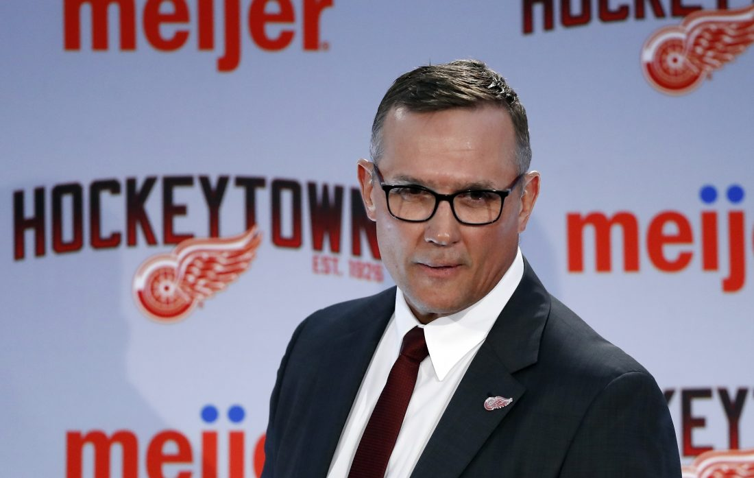 Yzerman-led Wings sticking to long-term plan