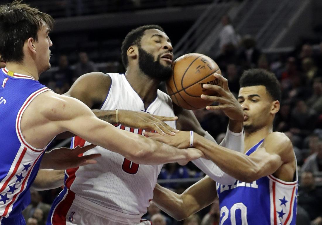 Detroit Pistons pull away to beat upstart Philadelphia 76ers | News