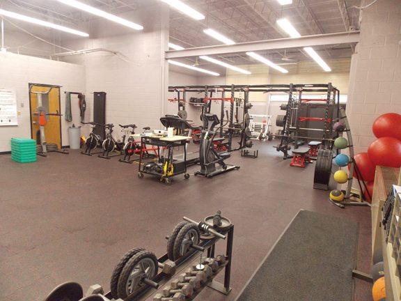 Marquette senior high school gym construction on schedule news
