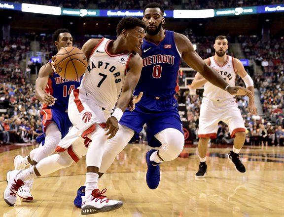 Image result for kyle lowry andre drummond