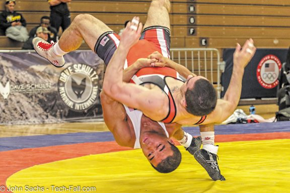 4 from Northern Michigan University Olympic Training Site wrestle way
