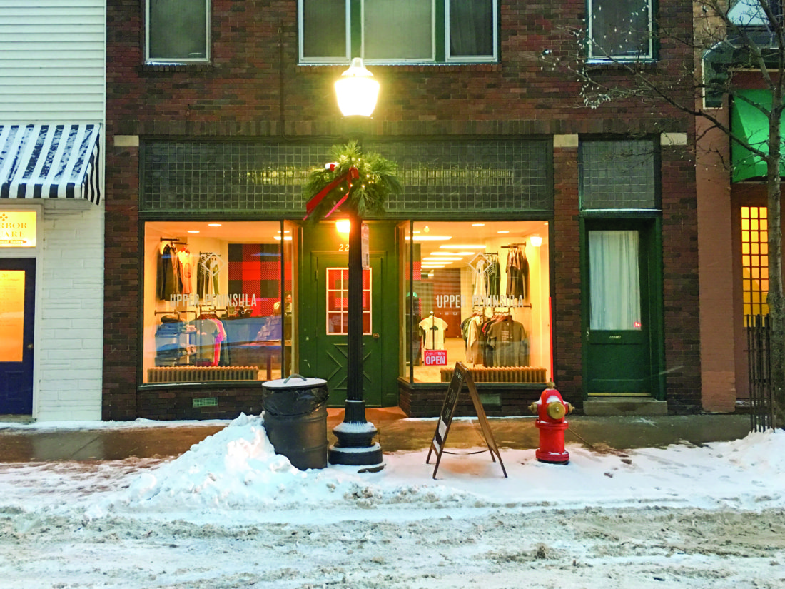 Formerly known as Yooper Steez, the Upper Peninsula Supply Co. provides U.P. apparel, local gifts, artwork, stickers and prints.
