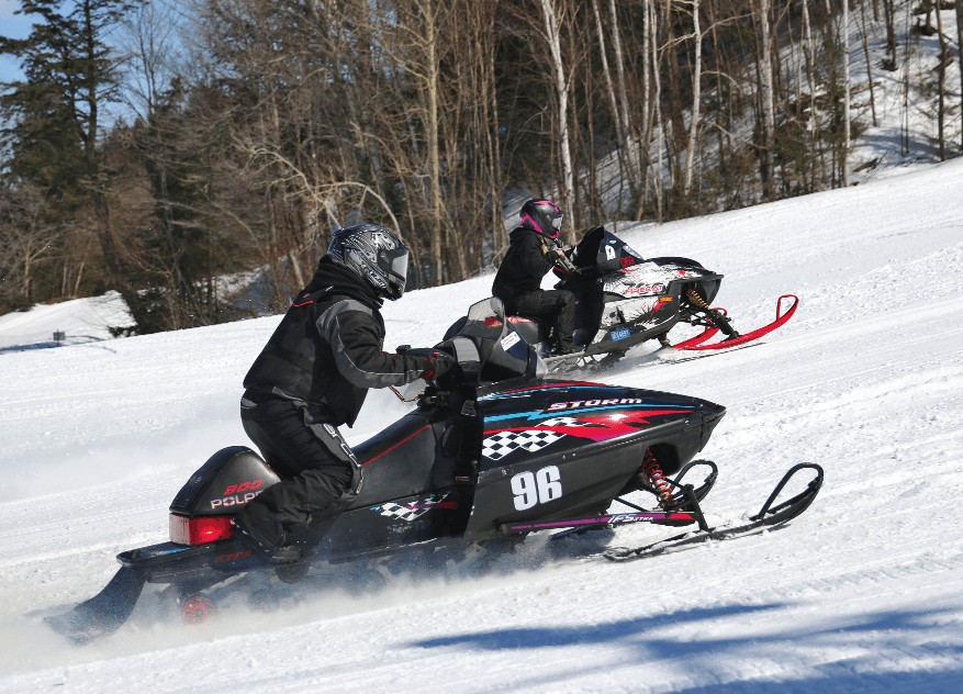 Marquette Mountain hosts snowmobile races | News, Sports, Jobs - The