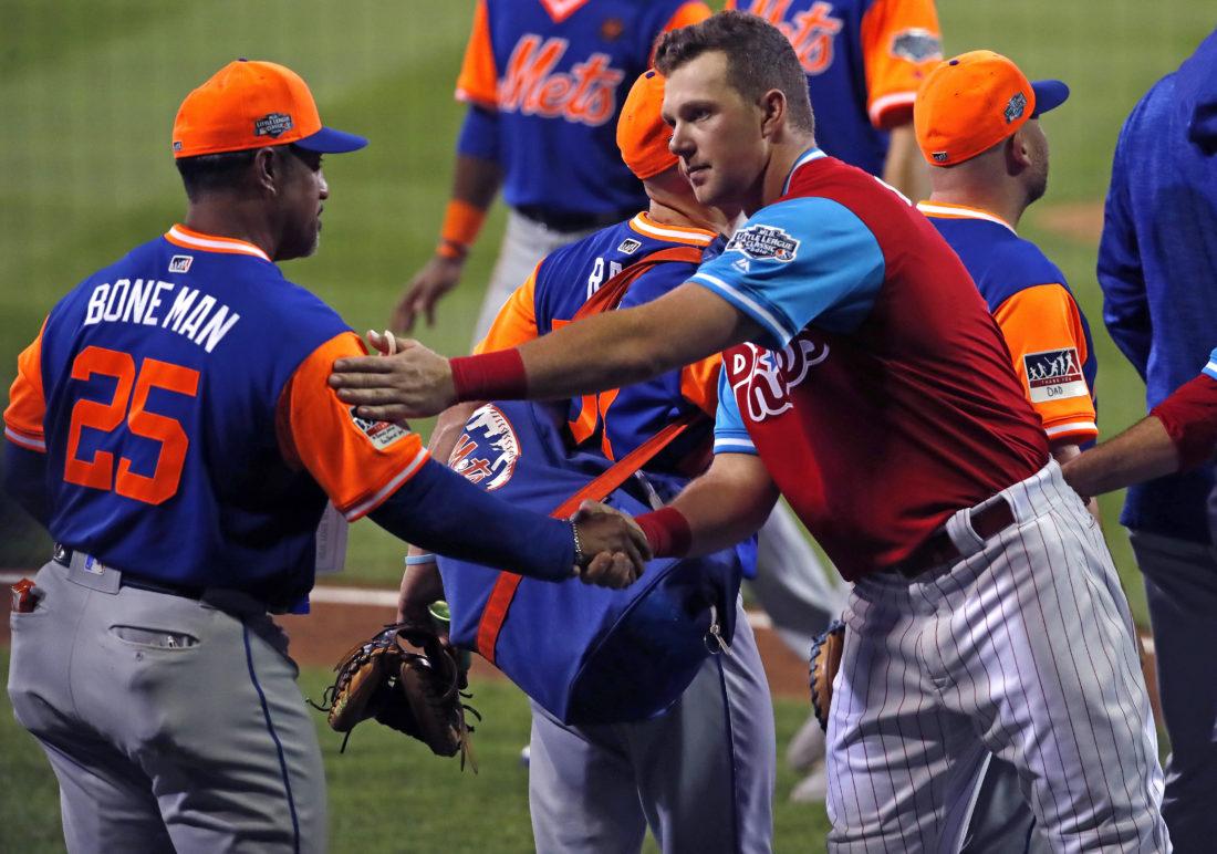 cc60b116d09 Kid stuff  Mets rout Phillies 8-2 in Little League Classic