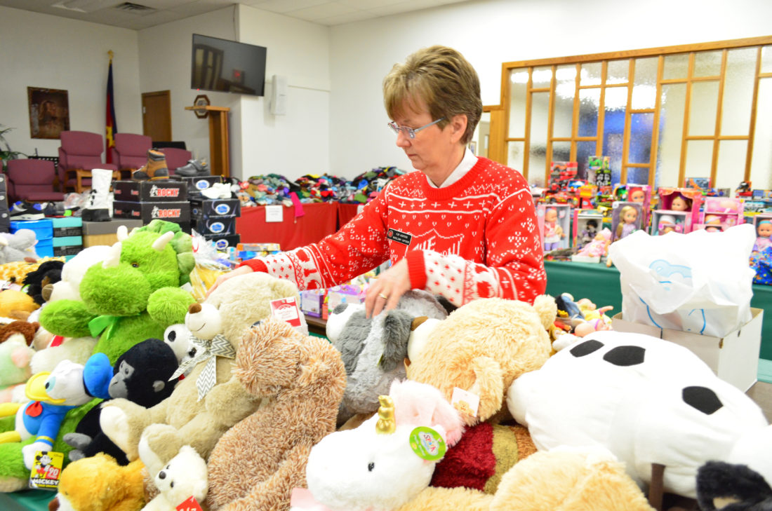 Salvation Army Distributes Gifts To Hundreds Of Children