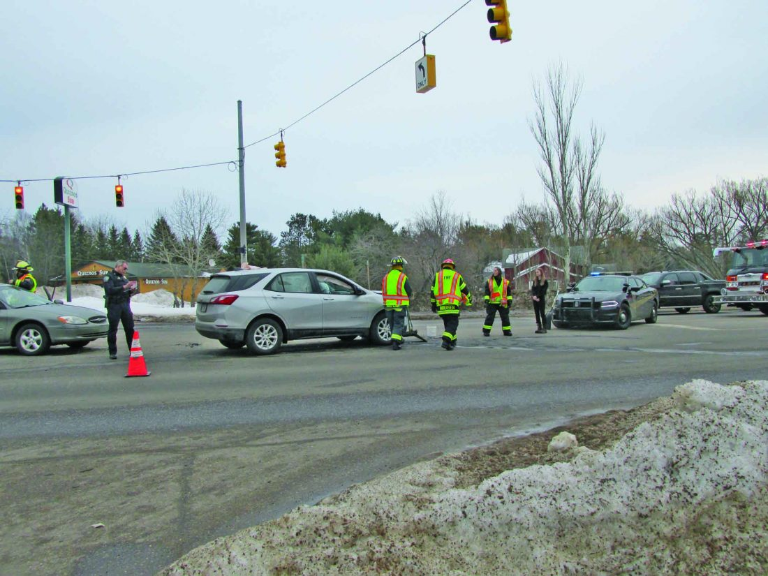 Woman injured, cited, in crash | News, Sports, Jobs - The