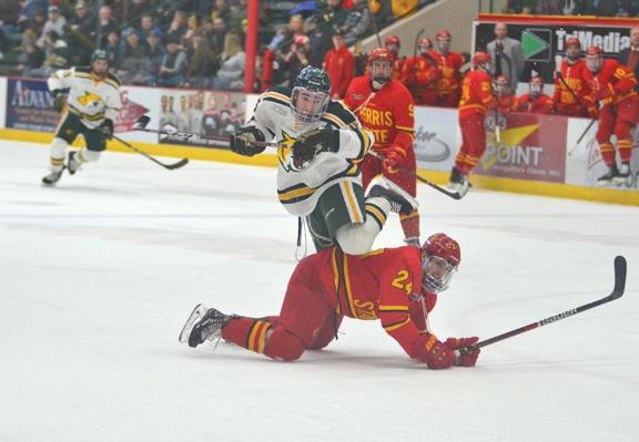 Tough slate of games: Northern Michigan University hockey opponents