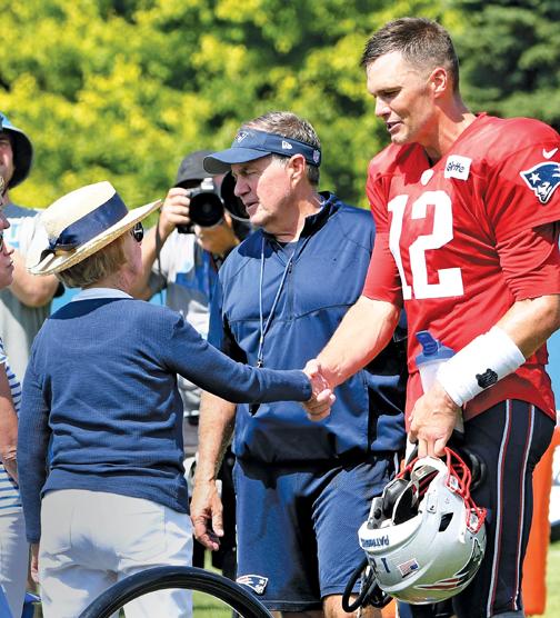 New England Patriots' Tom Brady, 42, faces uncertainty despite