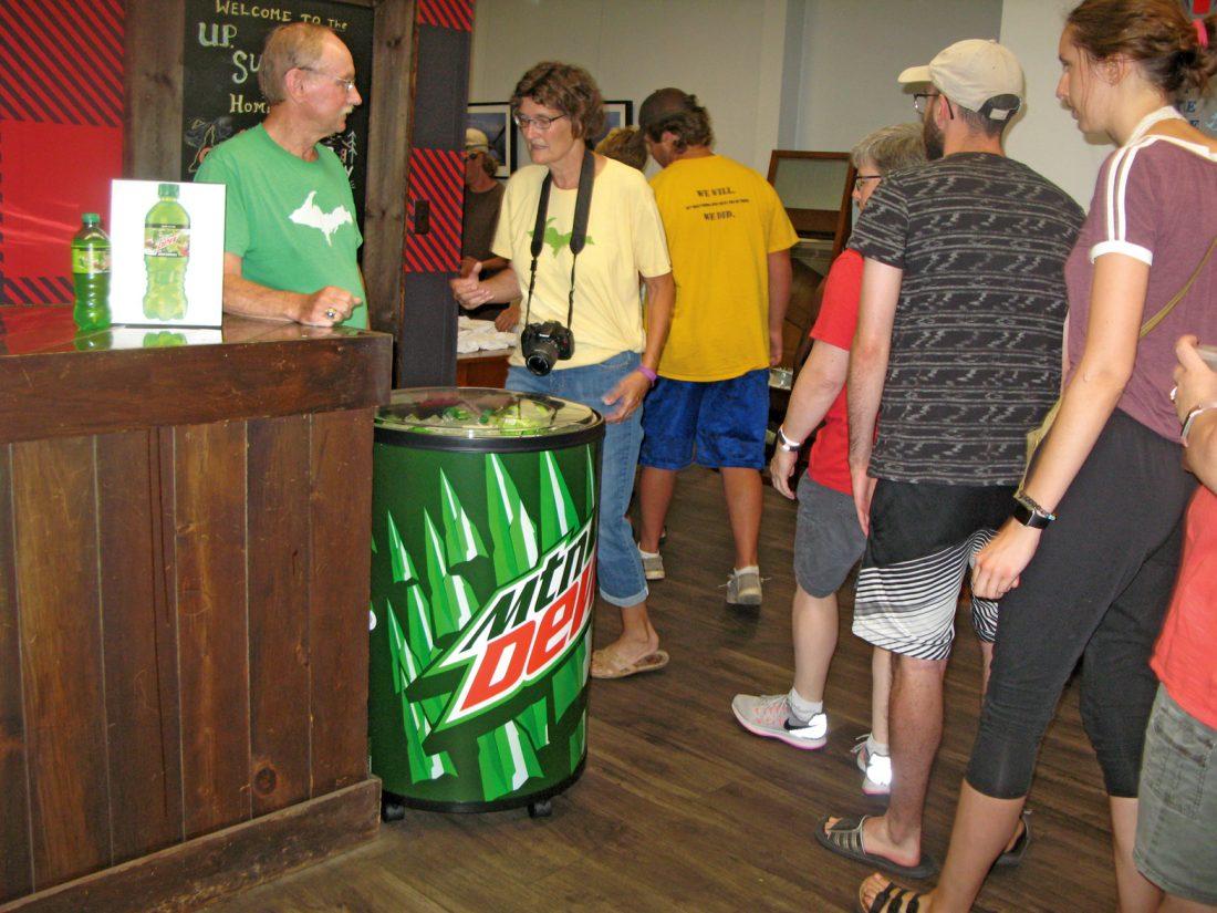 Mountain Dew reveals special U P  label | News, Sports, Jobs