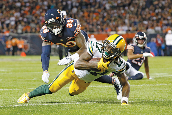 Green Bay Packers hold off Chicago Bears in old-time