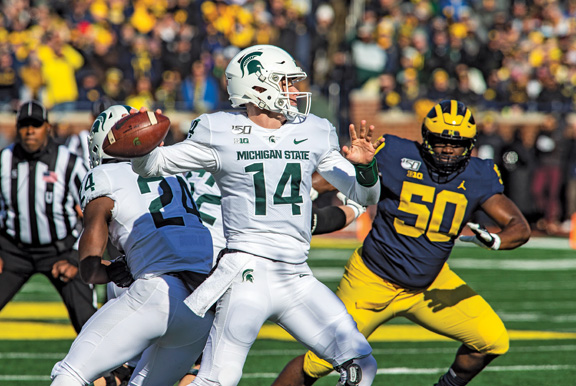 Michigan State Spartans Football Team Needs Wins Over