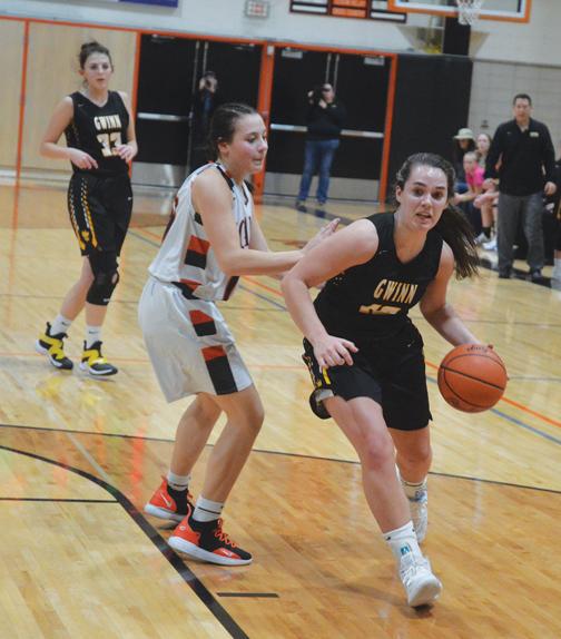 Gwinn Modeltowners' Girls Basketball Team Runs Into